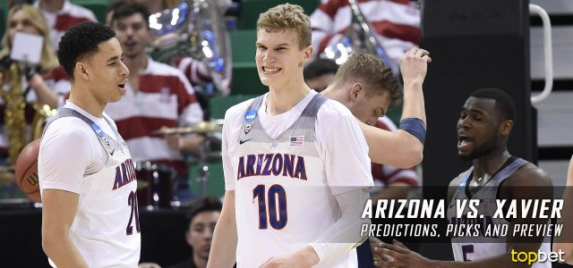 2017 March Madness Sweet 16 – Arizona Wildcats vs. Xavier Musketeers Predictions, Picks and NCAA Basketball Betting Preview
