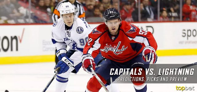 Washington Capitals vs. Tampa Bay Lightning Predictions, Picks and NHL Preview – March 18, 2017