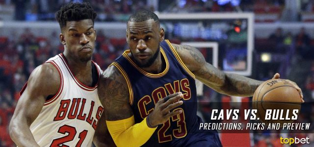 Cleveland Cavaliers vs. Chicago Bulls Predictions, Picks and NBA Preview – March 30, 2017