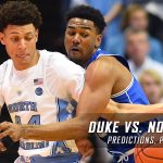 2017 ACC Tournament Semifinal Round – Duke Blue Devils vs. North Carolina Tar Heels Predictions, Picks and NCAA Basketball Betting Preview