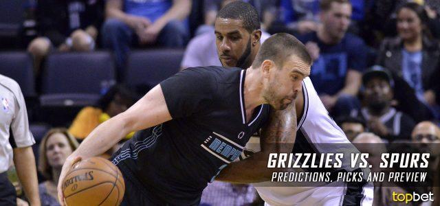 Grizzlies vs Spurs Predictions, Picks & Preview – March 2017