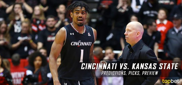 2017 March Madness Round of 64 – Cincinnati Bearcats vs. Kansas State Wildcats Predictions, Picks and NCAA Basketball Betting Preview