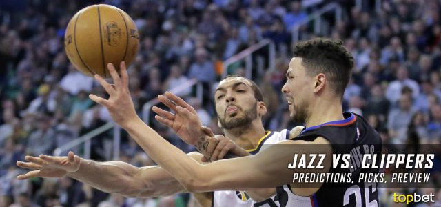 Utah Jazz vs. Los Angeles Clippers Predictions, Picks and NBA Preview – March 25, 2017