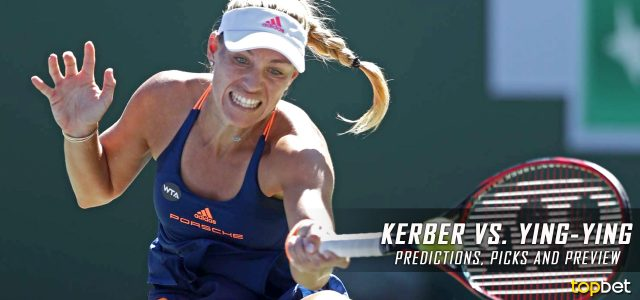 Angelique Kerber vs. Ying-Ying Duan Predictions, Odds, Picks, and Tennis Betting Preview – 2017 Miami Open Second Round