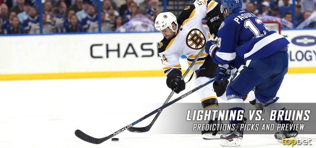 Tampa Bay Lightning vs. Boston Bruins Predictions, Picks and NHL Preview – March 23, 2017