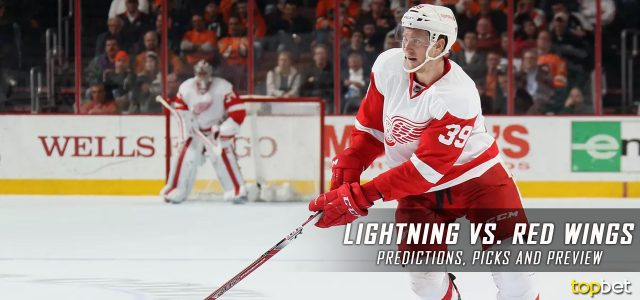 Tampa Bay Lightning vs. Detroit Red Wings Predictions, Picks and NHL Preview – March 24, 2017