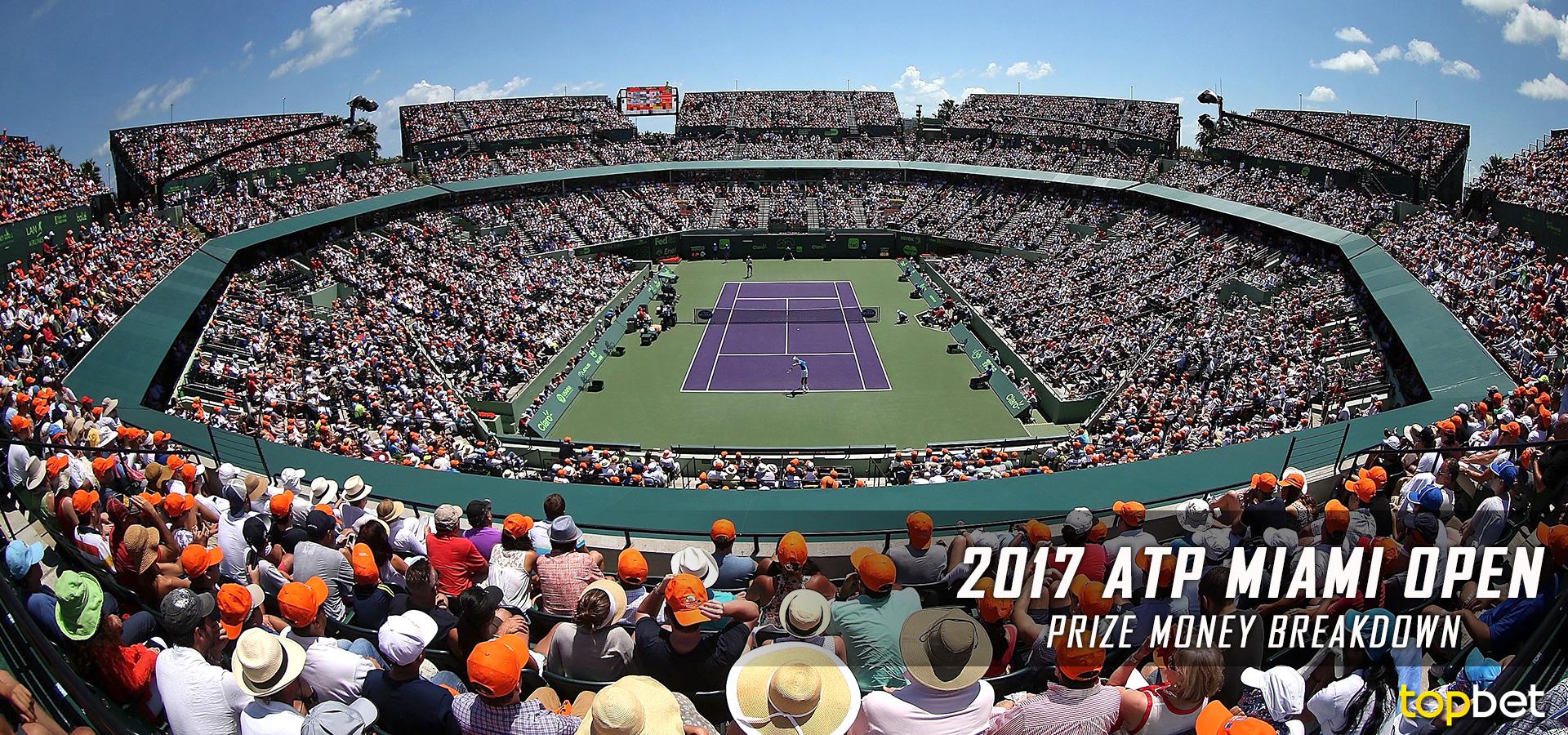2017 ATP Miami Open Purse and Prize Money Breakdown