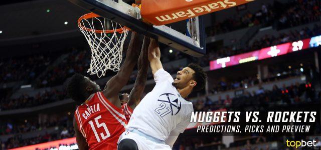 Denver Nuggets vs. Houston Rockets Predictions, Picks and NBA Preview – April 5, 2017
