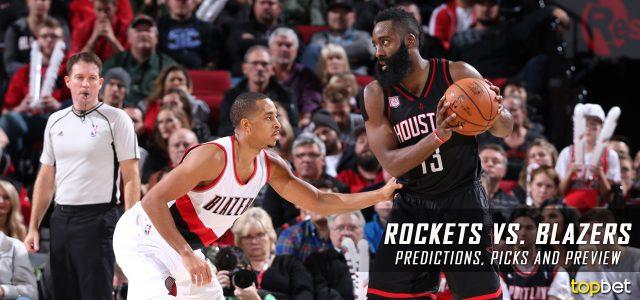 Houston Rockets vs. Portland Trail Blazers Predictions, Picks and NBA Preview – March 30, 2017