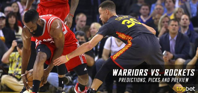 Golden State Warriors vs. Houston Rockets Predictions, Picks and NBA Preview – March 28, 2017