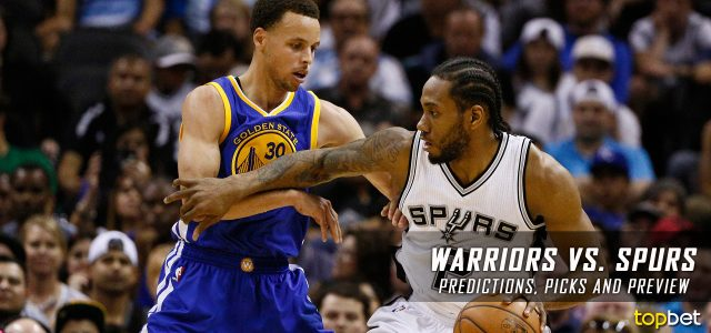 Golden State Warriors vs. San Antonio Spurs Predictions, Picks and NBA Preview – March 29, 2017