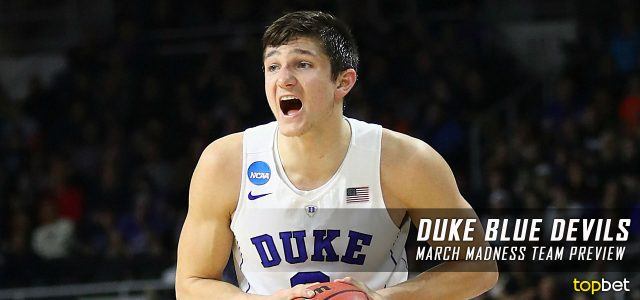 Duke Blue Devils – March Madness Team Predictions, Odds and Preview 2017