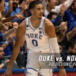 Duke Blue Devils vs. North Carolina Tar Heels Predictions, Picks, Odds and NCAA Basketball Betting Preview – March 4, 2017