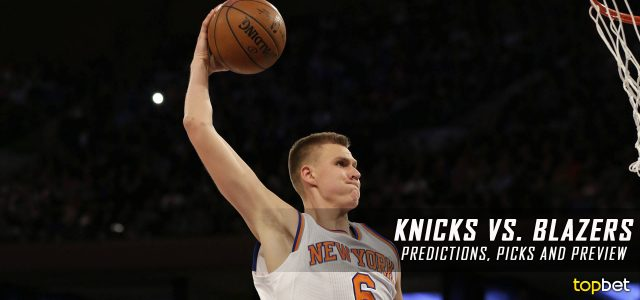 New York Knicks vs. Portland Trail Blazers Predictions, Picks and NBA Preview – March 23, 2017
