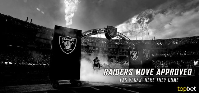 NFL Approves Oakland Raiders relocation to Las Vegas