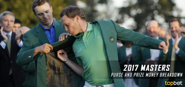 what is the prize money for the masters golf