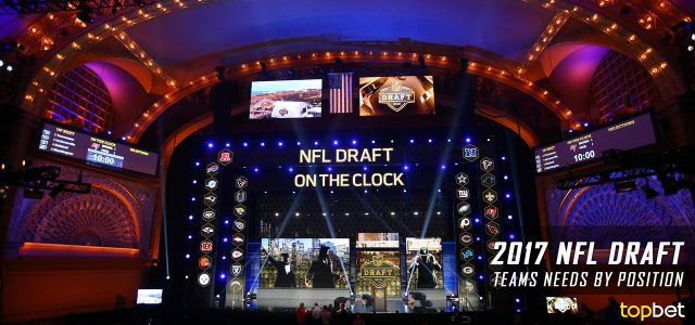 2017 NFL Draft Team Needs by Position