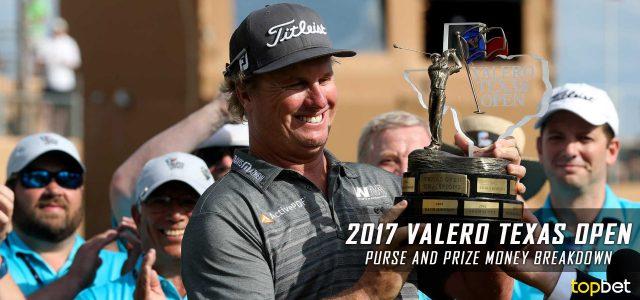 2017 Valero Texas Open Purse and Prize Money Breakdown