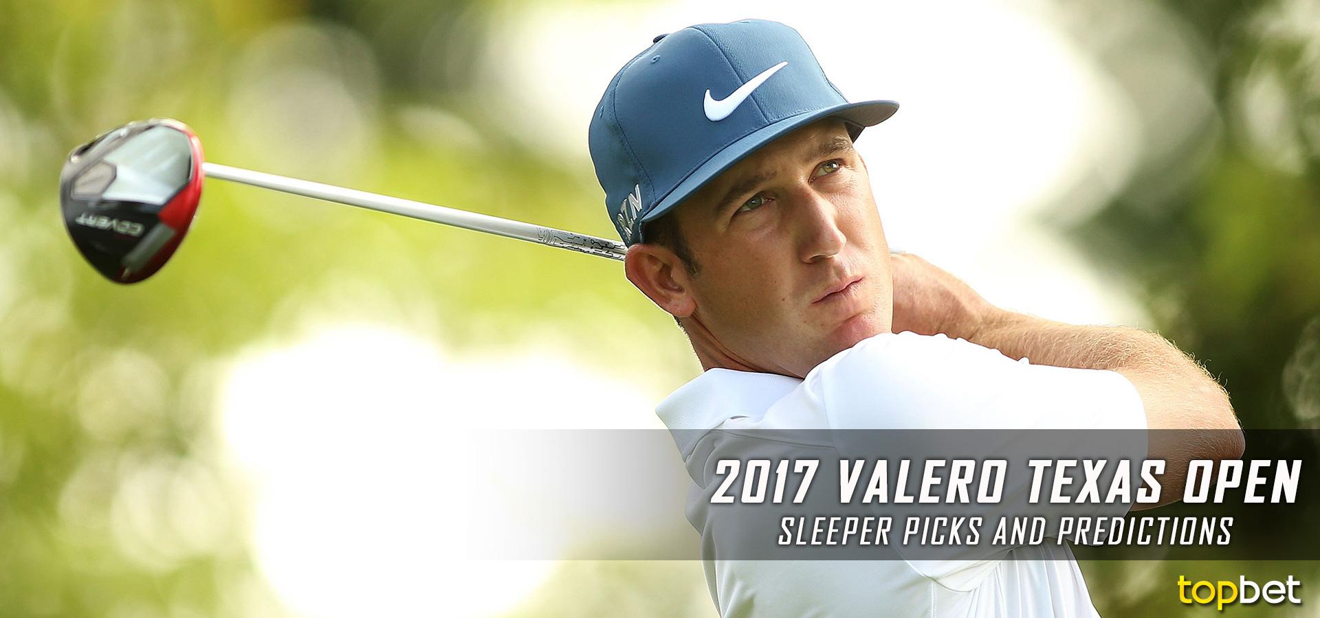 2018 Valero Texas Open Fantasy Golf Picks Info