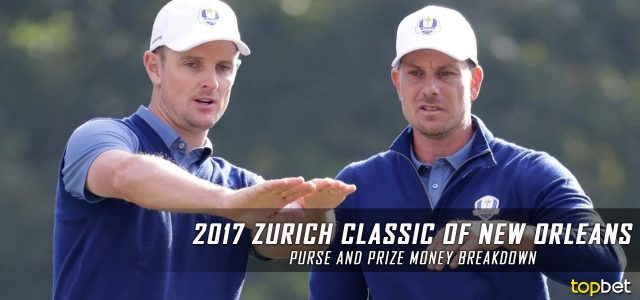2017 Zurich Classic of New Orleans Purse and Prize Money Breakdown