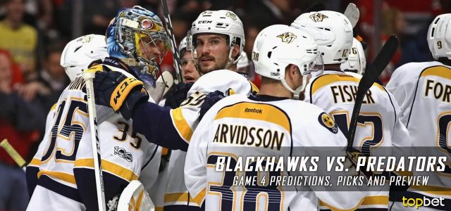 Chicago Blackhawks vs. Nashville Predators Predictions, Picks and Preview – 2017 Stanley Cup Playoffs – Western Conference First Round Game Four – April 20, 2017