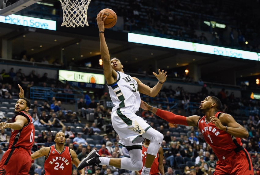 bucks vs raptors - photo #28