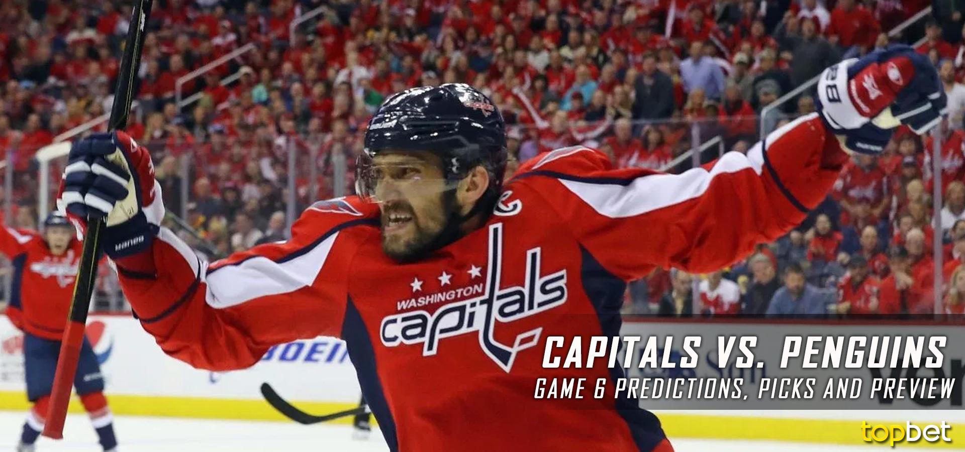 Washington Capitals vs. Pittsburgh Penguins Predictions df84a4ca27fa