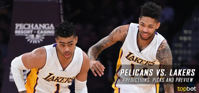 New Orleans Pelicans vs. Los Angeles Lakers Predictions, Picks and NBA Preview – April 11, 2017