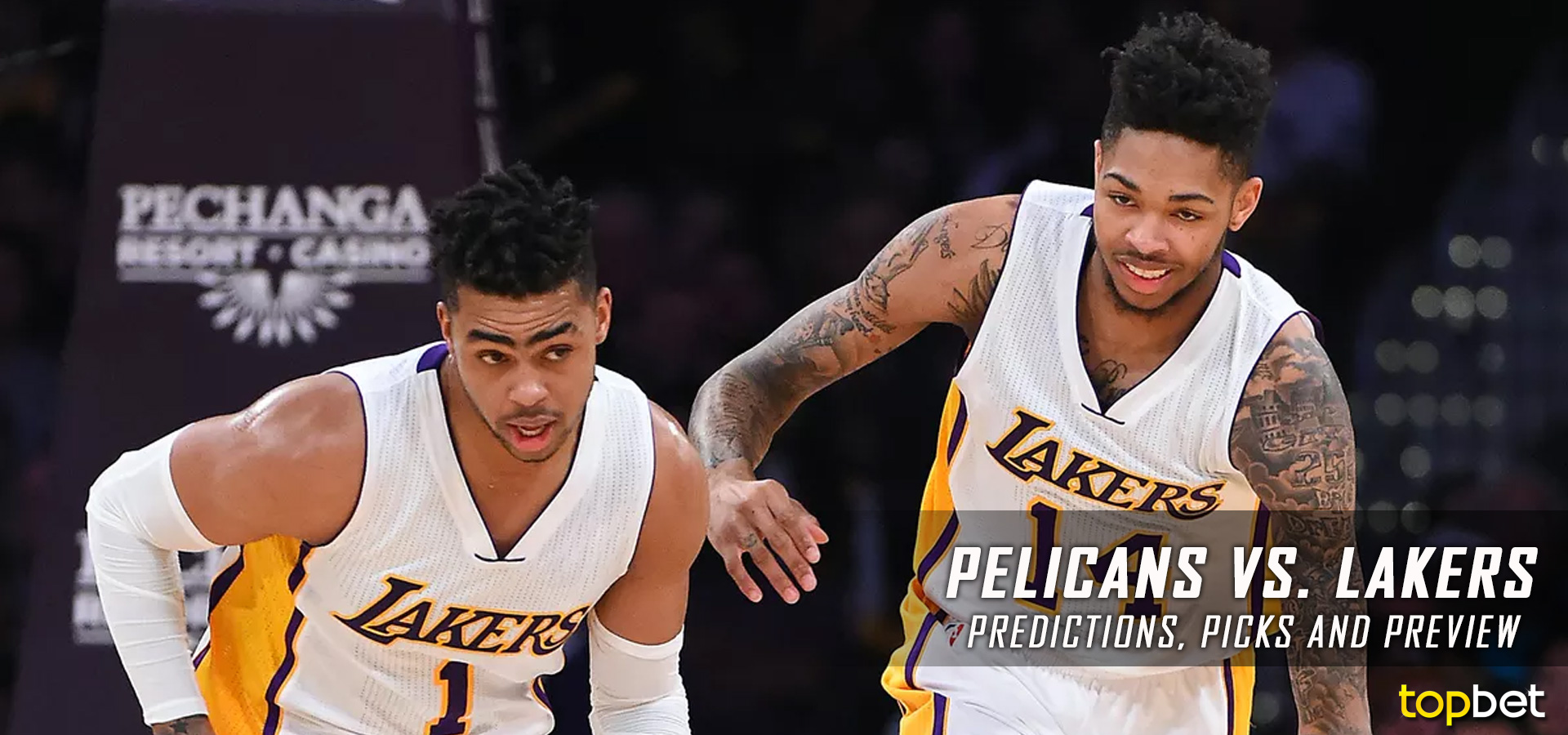 Pelicans Vs Lakers Predictions Picks Preview April 2017