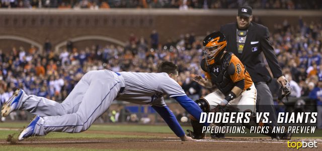 Los Angeles Dodgers vs. San Francisco Giants Predictions, Picks and MLB Preview – April 24, 2017