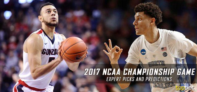 2017 NCAA March Madness National Championship Game – Gonzaga vs. North Carolina Expert Picks and Predictions