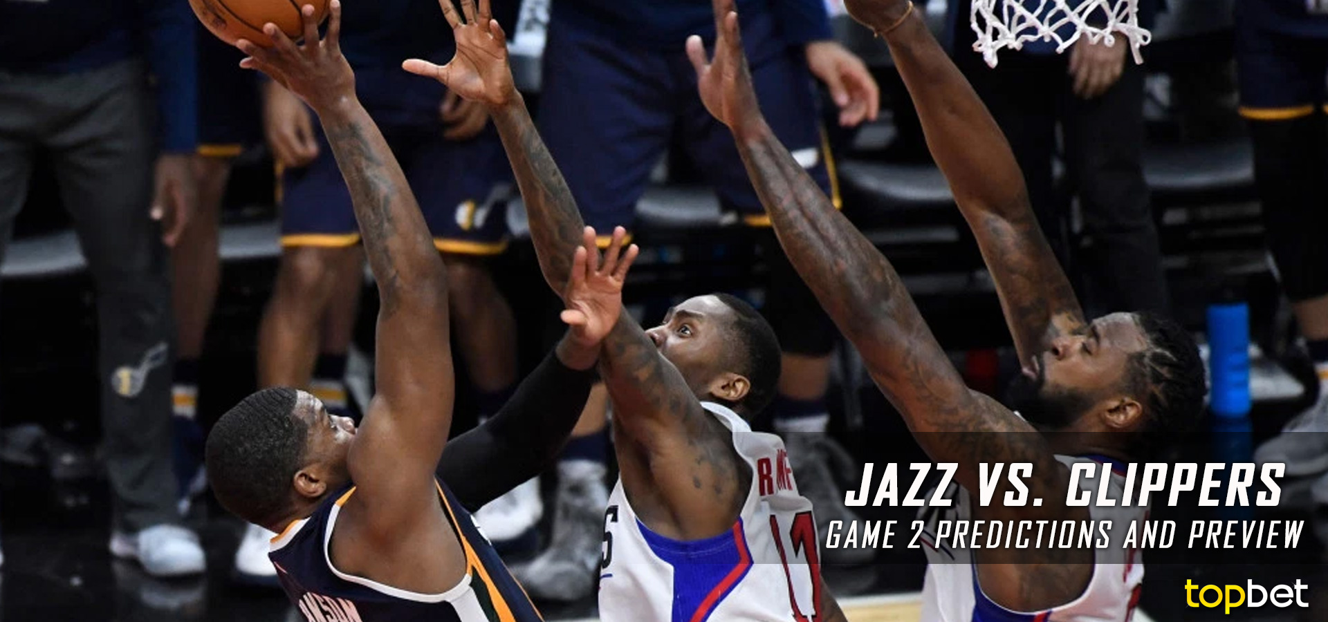 Jazz Vs Clippers Series Game 2 Predictions Picks Amp Preview