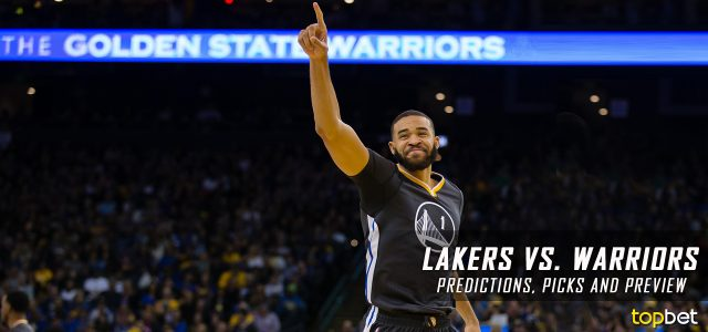 Los Angeles Lakers vs. Golden State Warriors Predictions, Picks and NBA Preview – April 12, 2017