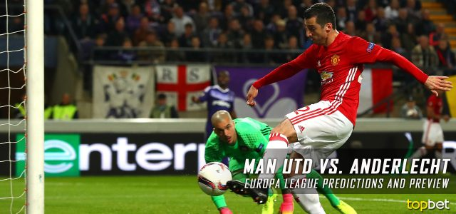 Manchester United vs. Anderlecht Predictions, Picks, and Preview – UEFA Europa League Quarterfinals Second Leg – April 20, 2017