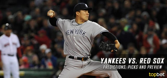 New York Yankees vs. Boston Red Sox Predictions, Picks and MLB Preview – April 27, 2017