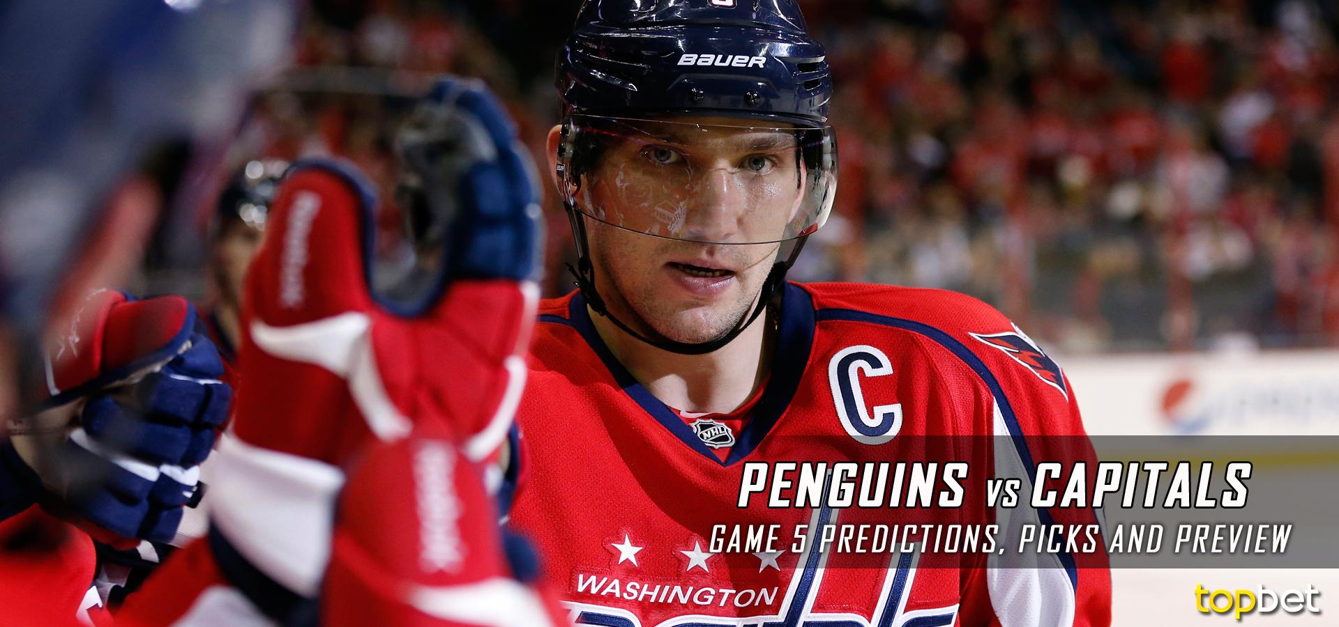 e311ab1821e Pittsburgh Penguins vs. Washington Capitals Predictions