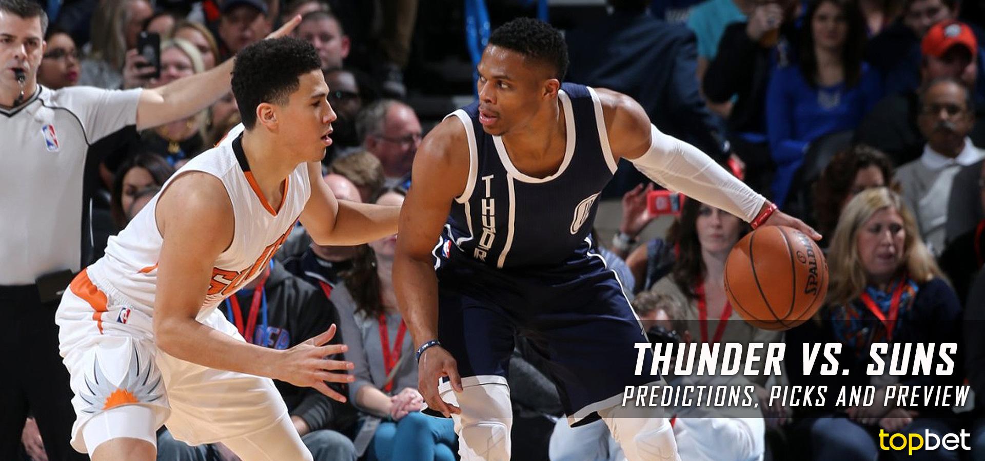 Thunder vs Suns Predictions, Picks & Preview – April 2017