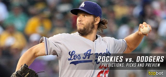Colorado Rockies vs. Los Angeles Dodgers Predictions, Picks and MLB Preview – April 19, 2017