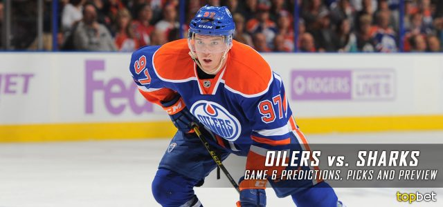 Edmonton Oilers vs. San Jose Sharks Predictions, Picks and Preview – 2017 Stanley Cup Playoffs – Western Conference First Round Game Six – April 22, 2017