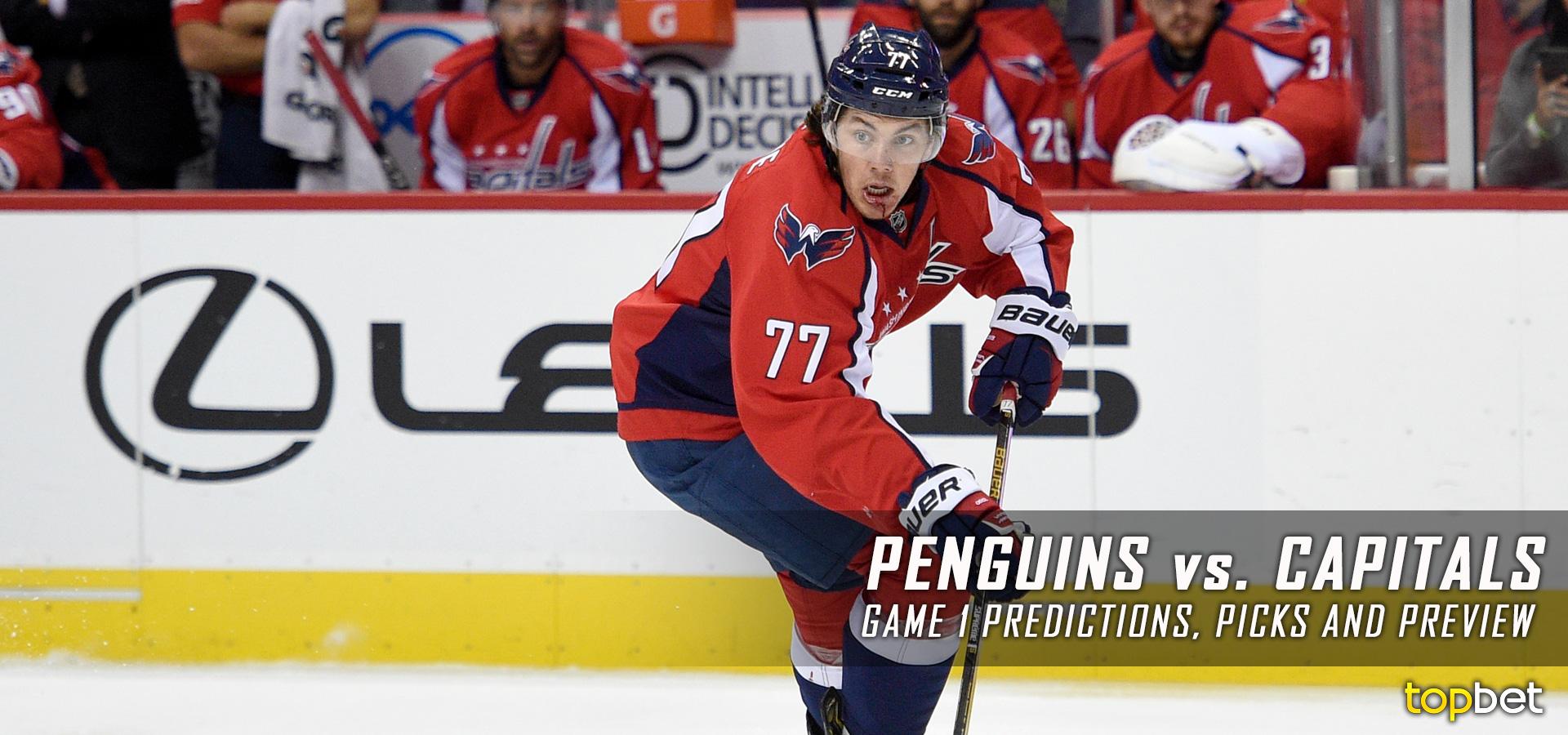 Penguins vs Capitals Series Game 1 Predictions cf48370ecc0a
