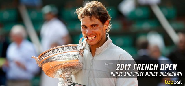 2017 French Open Purse and Prize Money Breakdown