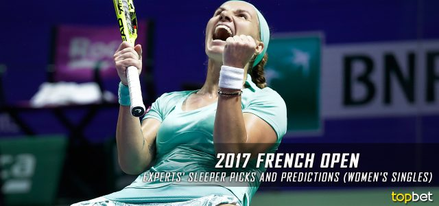 2017 French Open Women's Singles Expert Sleeper Picks and Predictions