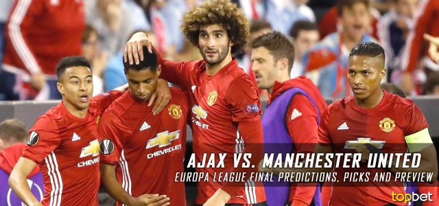 2017 Europa League Final – Ajax vs. Manchester United Predictions, Picks, Odds and Betting Preview
