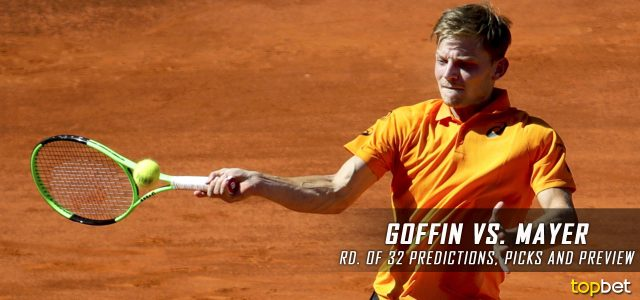 David Goffin vs. Florian Mayer Predictions, Odds, Picks and Tennis Betting Preview – 2017 Mutua Madrid Open Second Round