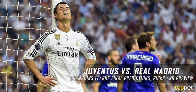 2017 Champions League Final – Juventus vs. Real Madrid Predictions, Picks, Odds and Betting Preview