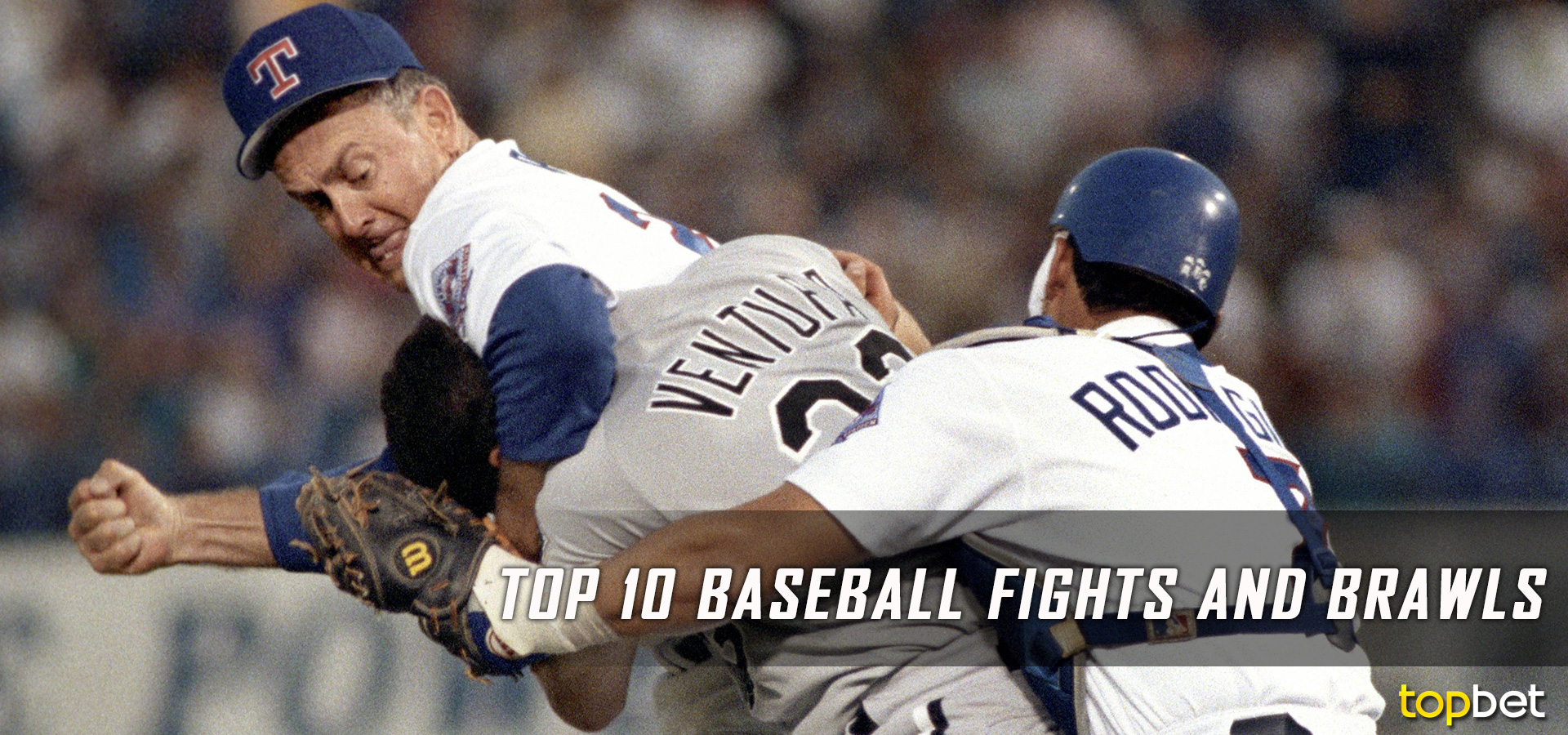 Top 10 MLB Best Bench Clearing Baseball Brawls and Fights