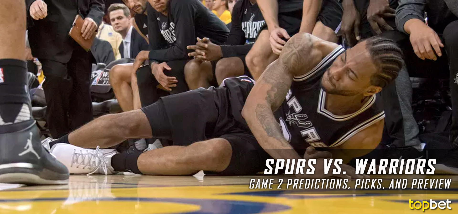 Spurs vs Warriors Series Game 2 Predictions, Picks & Preview