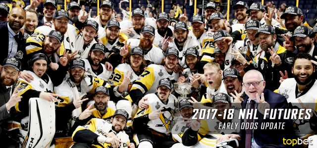 2017-18 NHL Stanley Cup Futures Odds Update