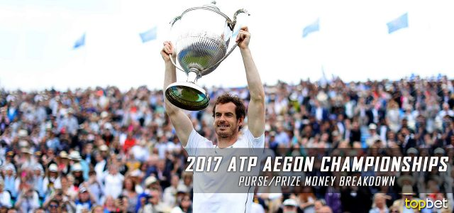 2017 ATP Aegon Championships Purse and Prize Money Breakdown