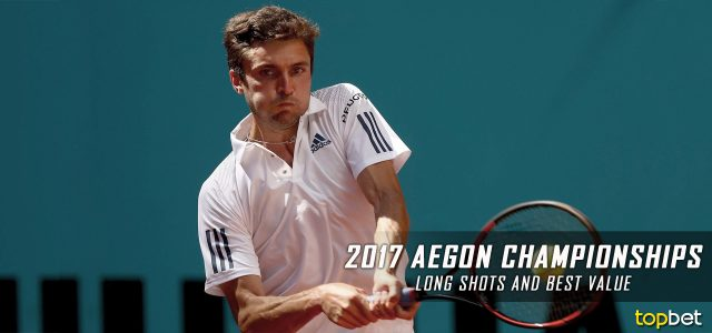 2017 ATP Aegon Championships Long Shots and Best Value Predictions